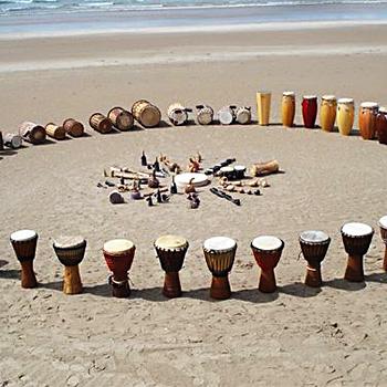 Барабан и музыка